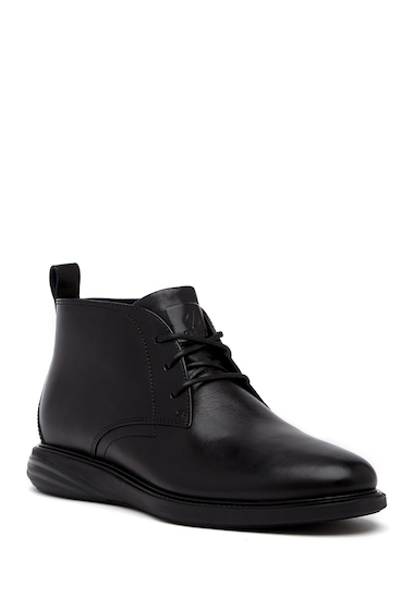 Incaltaminte Barbati Cole Haan GrandEvolution Chukka Boot BLACKBLAC
