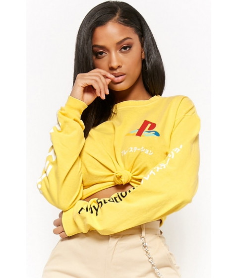 Imbracaminte Femei Forever21 PlayStation Graphic Tee YELLOWRED