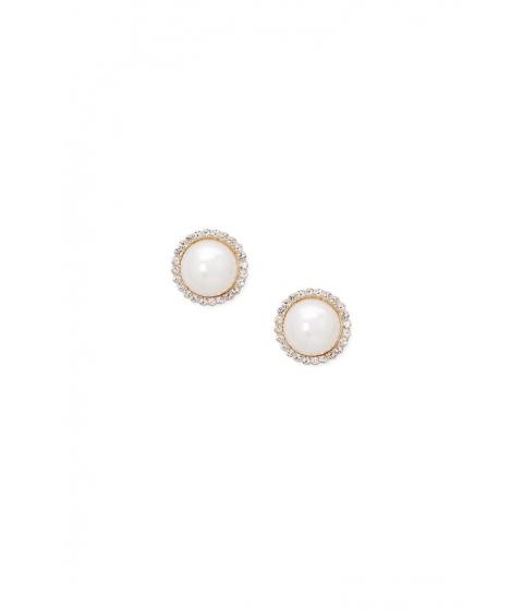 Bijuterii Femei Forever21 Oversized Faux Pearl Stud Earrings CREAMGOLD