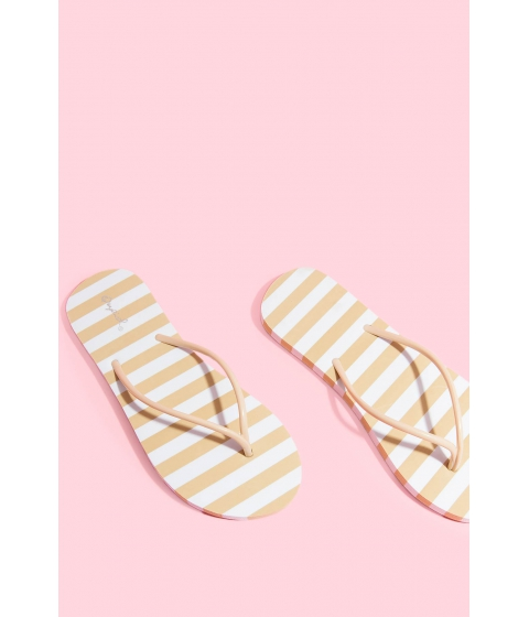 Incaltaminte Femei CheapChic Stripes For Days Sandal Nude