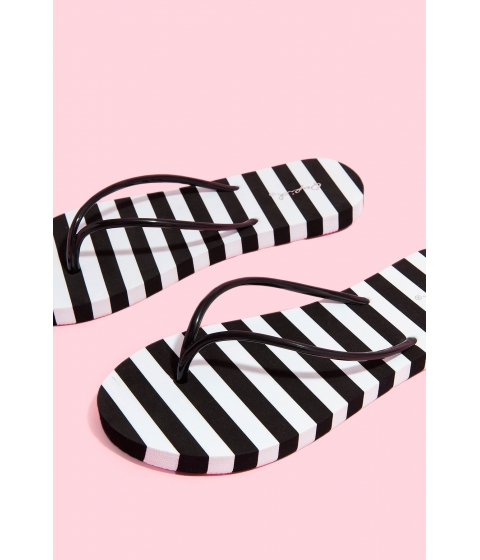 Incaltaminte Femei CheapChic Stripes For Days Sandal Black
