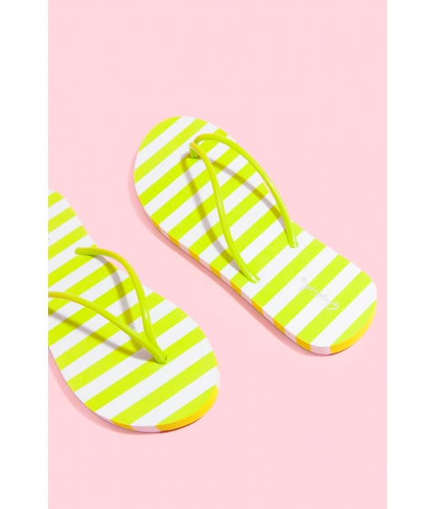 Incaltaminte Femei CheapChic Stripes For Days Sandal Lime