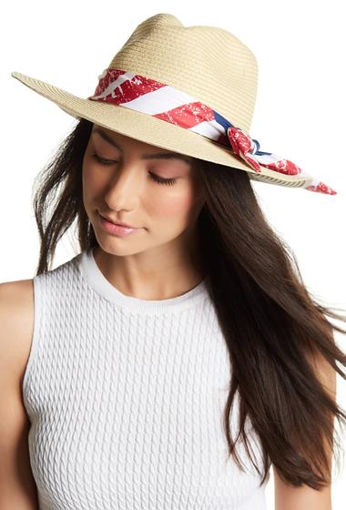 Accesorii Femei David Young Americana Panama Hat NATURAL