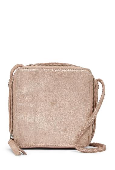 Genti Femei Day Mood Shelly Leather Crossbody Bag PALE BLUSH
