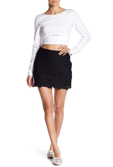 Imbracaminte Femei Free People Dreamy Days Mini Skirt BLACK