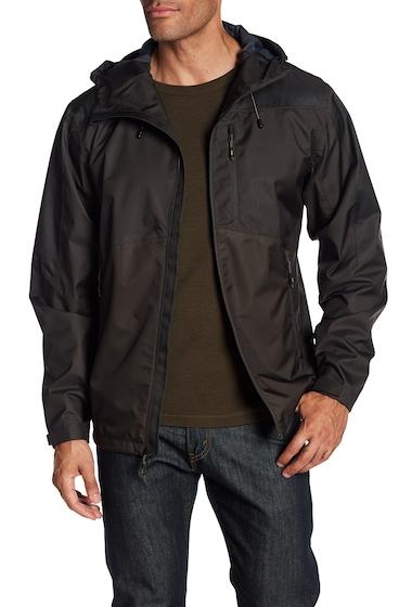 Imbracaminte Barbati Hawke Co Seam Sealed Hooded Rain Jacket OLIVE