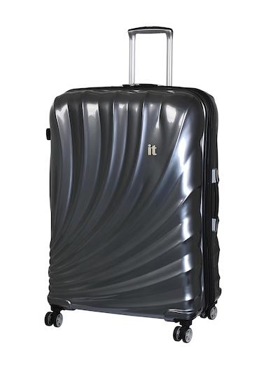 Genti Femei IT Luggage 315 Pagoda 8 Wheel with Expander SLATE GREY W BLACK TRIM