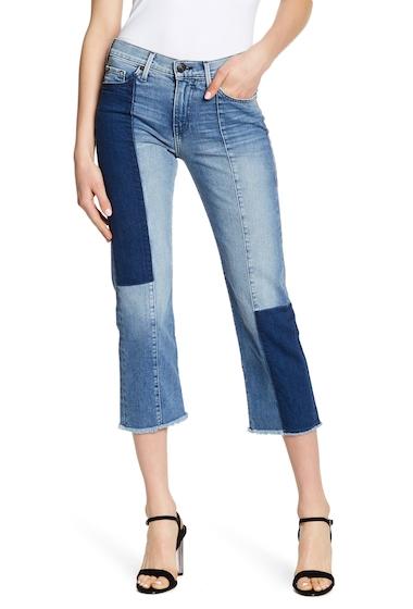 Imbracaminte Femei True Religion Cora Stovepipe Patch Denim Jeans EBPM SAND