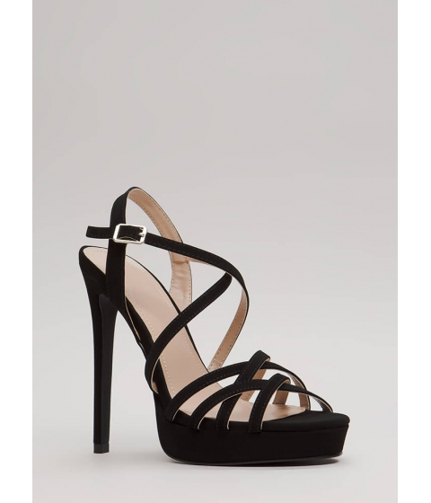 Incaltaminte Femei CheapChic Go To Your Strappy Place Platforms Black