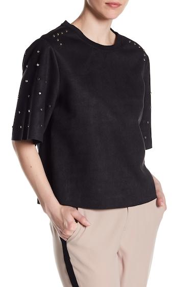 Imbracaminte Femei Dex Oversized Studded Tee 10001-BLACK