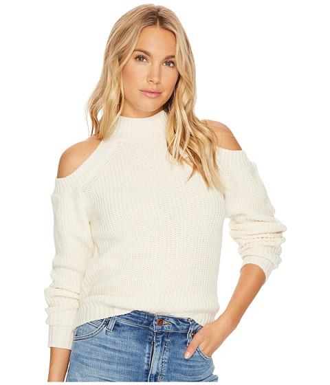 Imbracaminte Femei BB Dakota Mai Cold-Shoulder Turtleneck Sweater Ivory