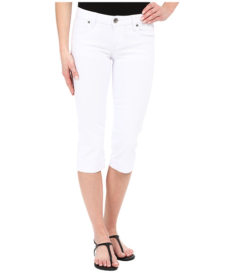 Imbracaminte Femei KUT from the Kloth Basic Five-Pocket Crop Jeans in Optic White Optic White