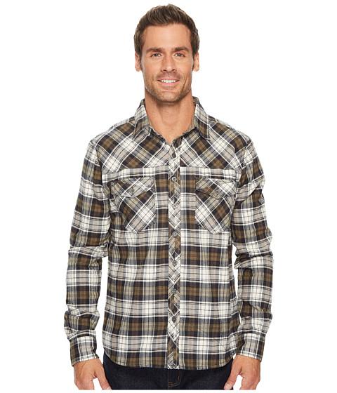 Imbracaminte Barbati Ecoths Zander Long Sleeve Shirt Gravel