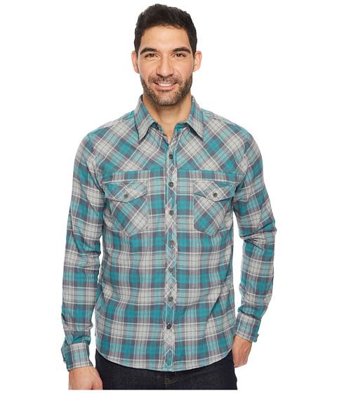 Imbracaminte Barbati Ecoths Zander Long Sleeve Shirt GreenBlue Slate