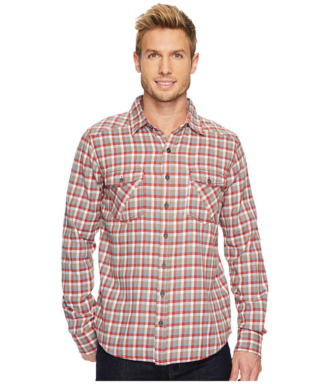 Imbracaminte Barbati Ecoths Sherman Long Sleeve Shirt Tandori Spice