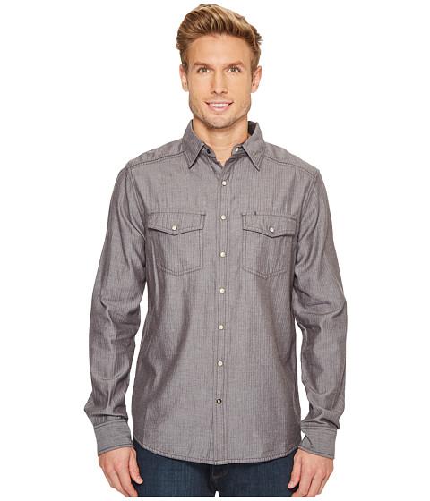Imbracaminte Barbati Ecoths Donnelly Long Sleeve Shirt Phantom