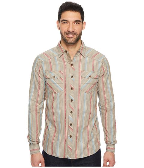 Imbracaminte Barbati Ecoths Leo Long Sleeve Shirt Chocolate Chip