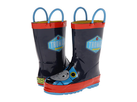 Incaltaminte Baieti Western Chief Kids Thomas Blue Engine Rainboot (ToddlerLittle KidBig Kid) Navy