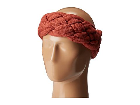 Accesorii Femei San Diego Hat Company KNH3479 Braided Headband Rust