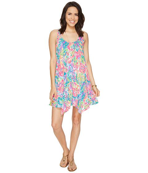 Imbracaminte Femei Lilly Pulitzer Hampton Dress Multi Fan Sea Pants Reduced