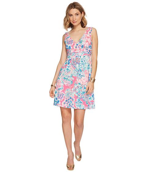 Imbracaminte Femei Lilly Pulitzer Short Sloane Dress Tiki Pink Gypsea Pink