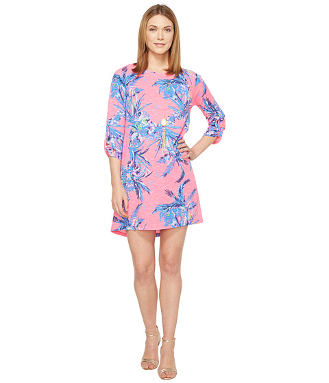 Imbracaminte Femei Lilly Pulitzer Surfcrest Dress Tiki Pink Out on A Limb