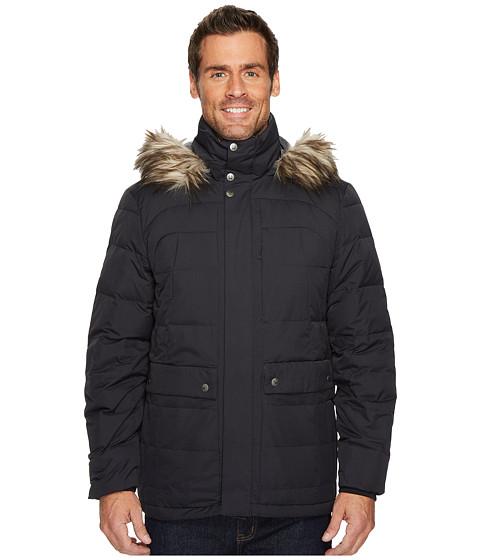 Imbracaminte Barbati Spyder Garrison Faux Fur Down Jacket BlackBlack