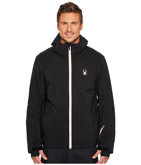 Imbracaminte Barbati Spyder Chambers Jacket BlackBlack