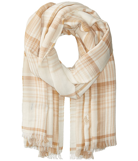 Accesorii Femei Liebeskind Lightweight Fall Flannels Scarf Collection CreamCamel