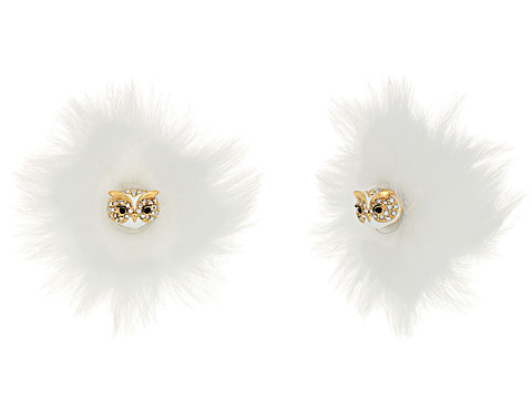 Bijuterii Femei Kate Spade New York Star Bright Owl Reversible Earrings White Multi