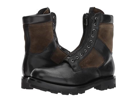 Incaltaminte Barbati Frye Jump Boot Black Multi Pressed Full GrainWaterproof Suede
