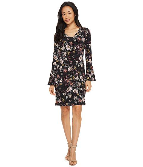Imbracaminte Femei Karen Kane V-Neck Bell Sleeve Dress Floral