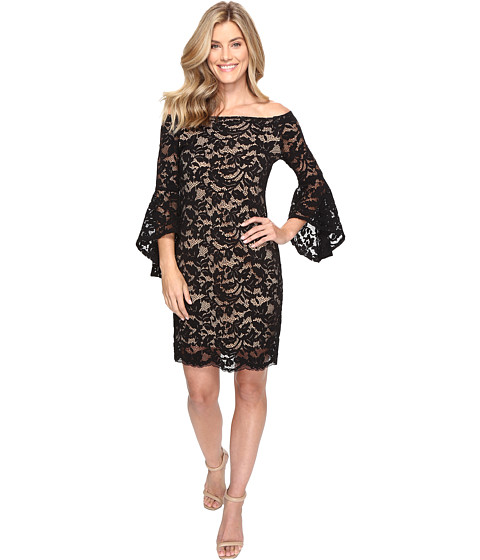 Imbracaminte Femei Karen Kane Samantha Lace Dress BlackNude
