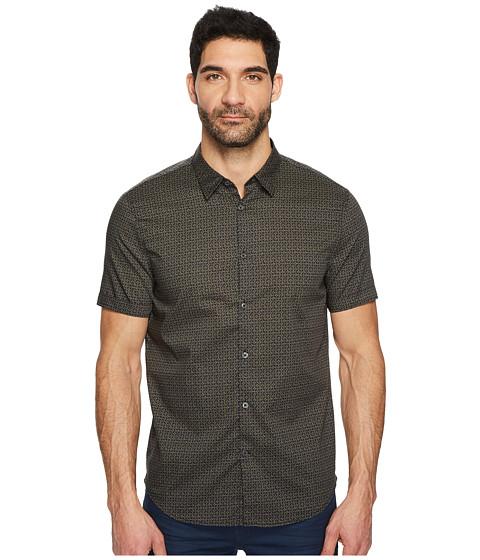 Imbracaminte Barbati John Varvatos Short Sleeve Shirt w Cuff W443T4B Black