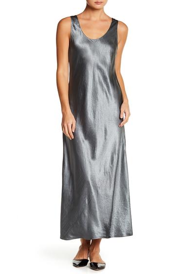 Imbracaminte Femei Vince Bias Scoop Neck Dress PINE