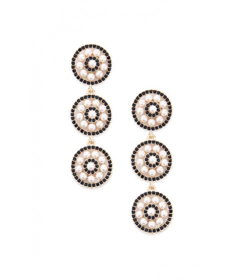 Bijuterii Femei Forever21 Tiered Faux Pearl Earrings GOLDCREAM