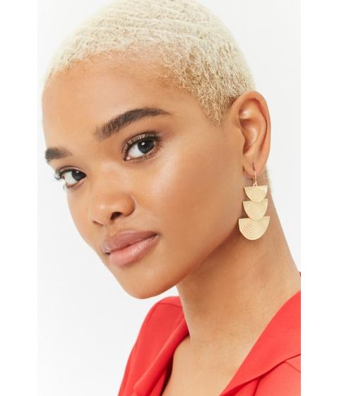 Bijuterii Femei Forever21 Tiered Geo Drop Earrings GOLD