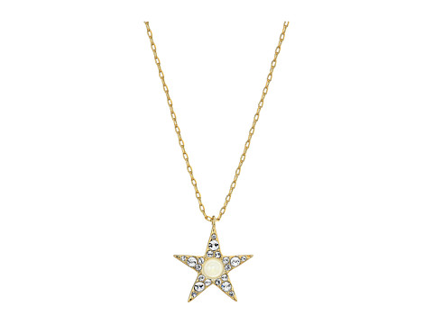 Bijuterii Femei Kate Spade New York Seeing Stars Pave Star Pendant Necklace ClearGold