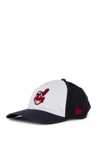 Accesorii Barbati New Era Cap Cleveland Indians White Pop Cap WHITE