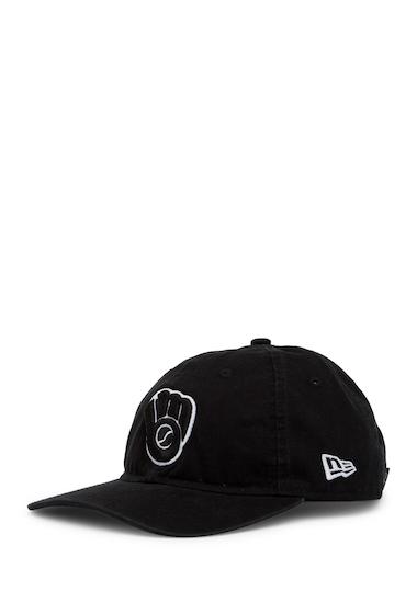 Accesorii Barbati New Era Cap Milwaukee Brewers Cap BLACK