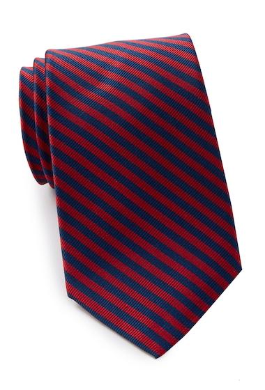 Accesorii Barbati Nautica Tore Stripe Silk Tie RED