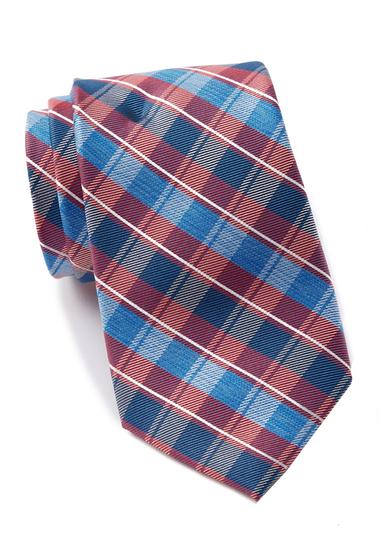 Accesorii Barbati Nautica Norwell Plaid Silk Tie RED