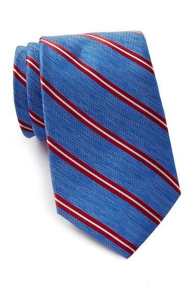Accesorii Barbati Nautica Loret Stripe Silk Tie RED