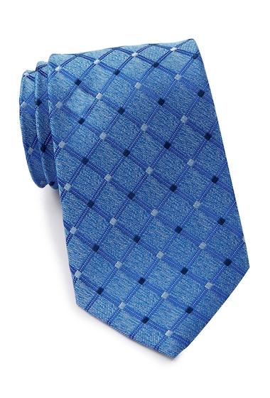 Accesorii Barbati Nautica Scarett Grid Silk Tie BLUE