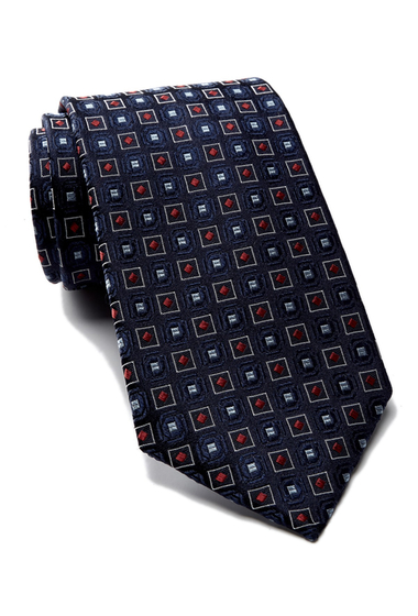 Accesorii Barbati Tommy Hilfiger Silk Red Group Neats Tie DEEP RED