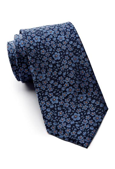 Accesorii Barbati Tommy Hilfiger Silk Micro Floral Tie BLUE