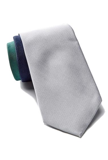 Accesorii Barbati Tommy Hilfiger Silk Tri-Color Panel Tie GREEN