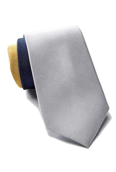 Accesorii Barbati Tommy Hilfiger Silk Tri-Color Panel Tie YELLOW