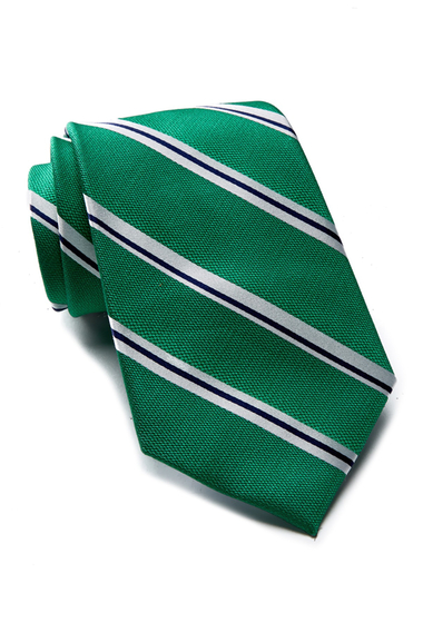 Accesorii Barbati Tommy Hilfiger Silk Street Lane Stripe Tie GREEN