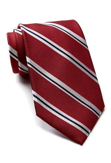 Accesorii Barbati Tommy Hilfiger Silk Street Lane Stripe Tie RED
